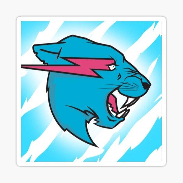 Mr beast logo Sticker