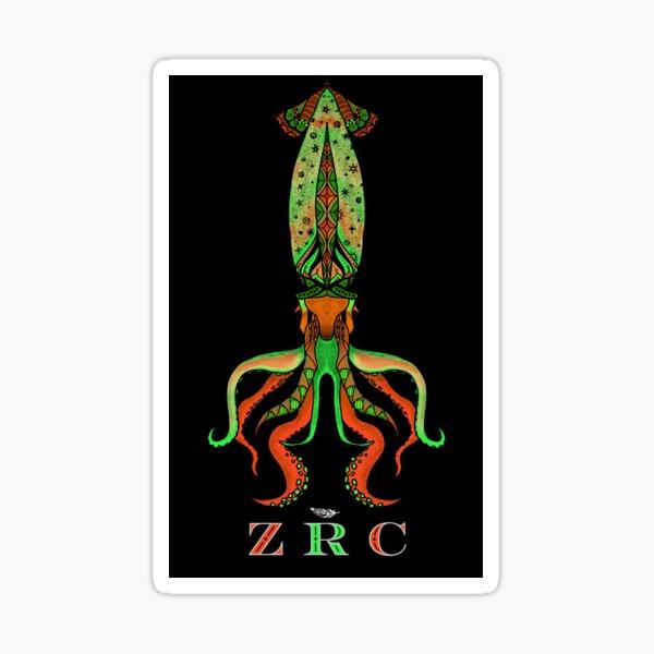 For Squid, Version 2 Sticker