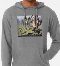 cycling illustration HELL OF THE NORTH retro Paris Roubaix  Lightweight Hoodie