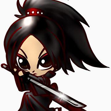 samurai by GildedPixel