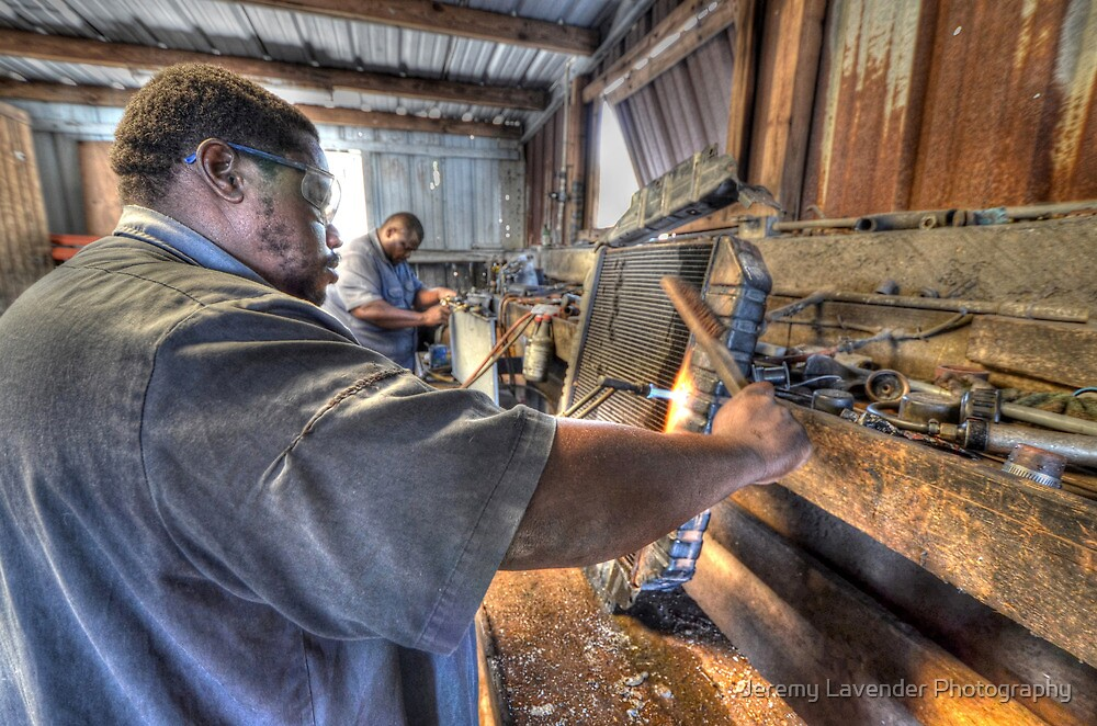 Fixin' Da Radiator at Boy'z Radiators in Fox Hill Village, The Bahamas by Jeremy Lavender Photography
