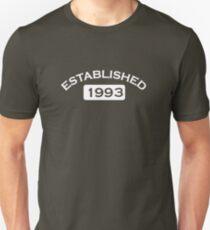 Established 1993 Unisex T-Shirt