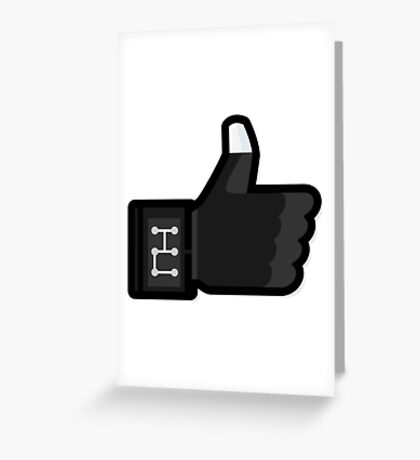 FACEBOOK X GHOSTBUSTERS (GB3) Greeting Card