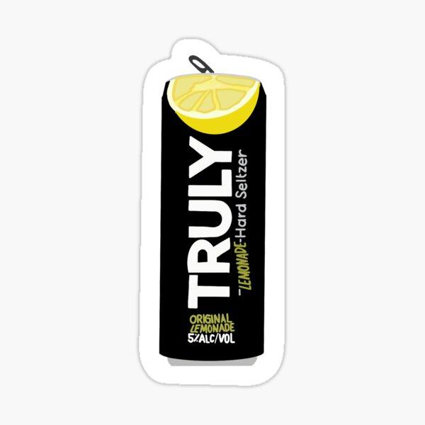 Truly Lemonade  Sticker
