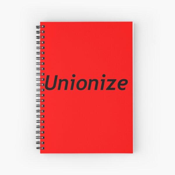 Unionize Spiral Notebook