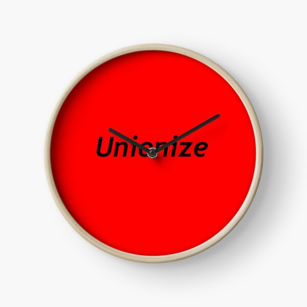 Unionize Clock