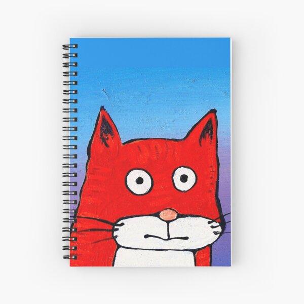 SURPRISE CAT! Spiral Notebook