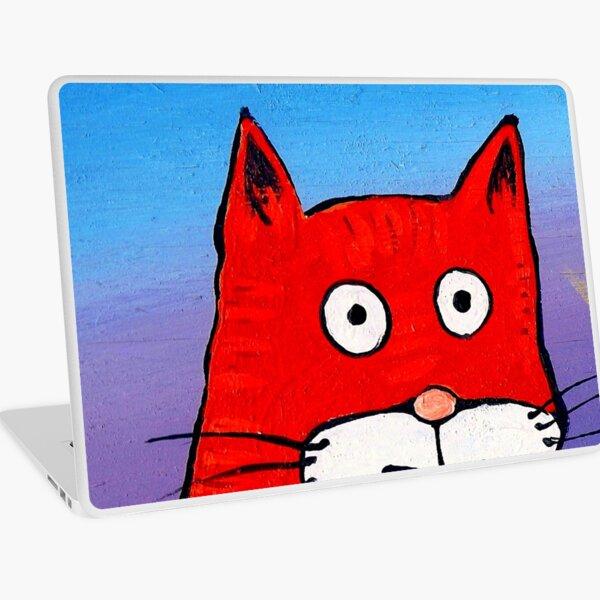 SURPRISE CAT! Laptop Skin