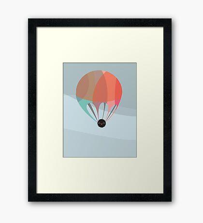 Flying Happy Dust Framed Print