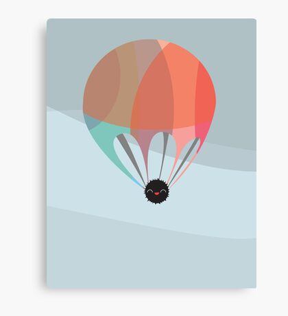 Flying Happy Dust Canvas Print