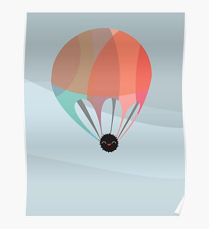 Flying Happy Dust Poster