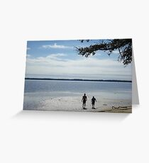 LET'S GO FISHING Greeting Card