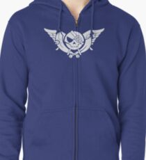 Skies of Arcadia Zipped Hoodie