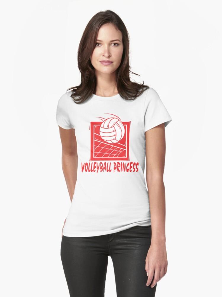 Volleyball Princess Women's by SportsT-Shirts
