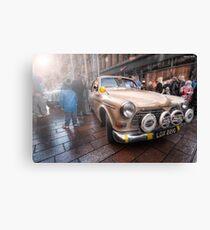 Monte Debutante - 1968 Volvo || Monte Carlo Classic Rally 2013  Canvas Print