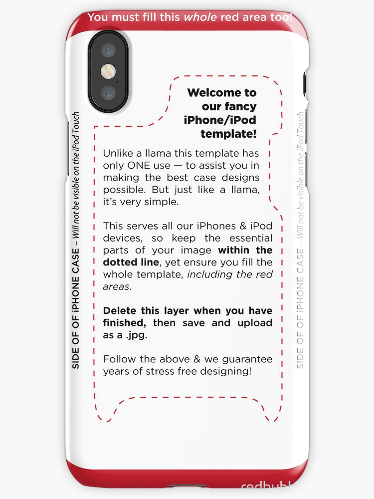 Iphone Case Template