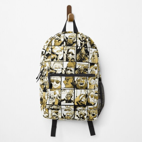 Present Mic (color version) - My hero academia collage  Backpack