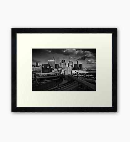 Detroit 2013 Framed Print