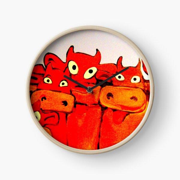 COWS GALORE Clock