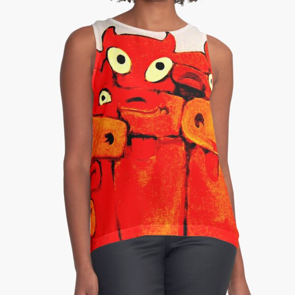 COWS GALORE Sleeveless Top