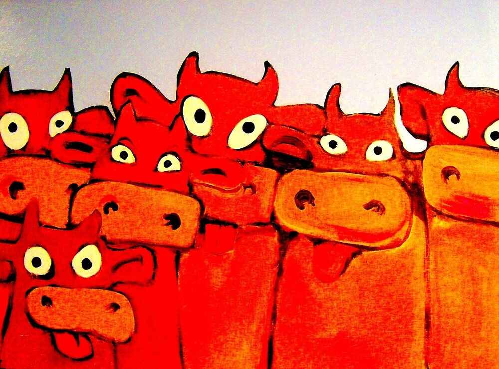 COWS GALORE by paulvolker
