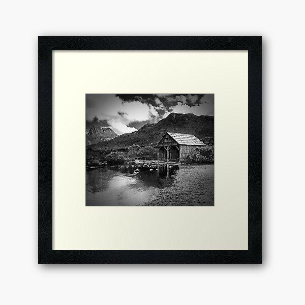The Boat Shed Framed Art Print