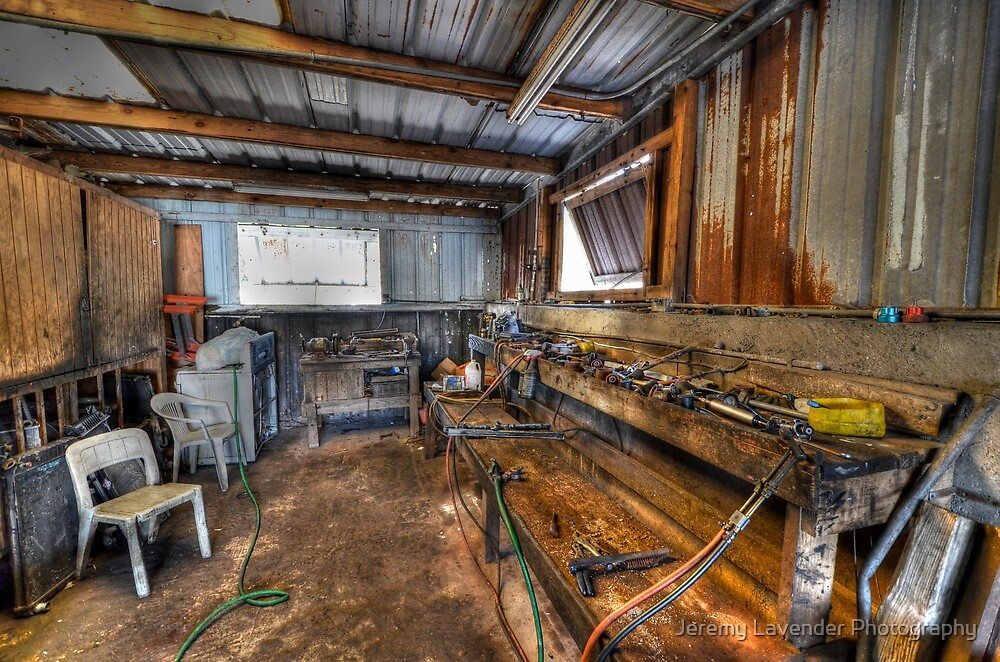 The Radiator Work Shop on Fox Hill Town, The Bahamas by Jeremy Lavender Photography