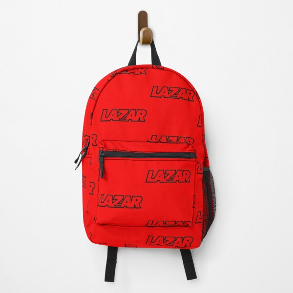 Lazarbeam Logo Black Backpack