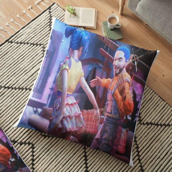 JBALVIN - BLUE colors Floor Pillow