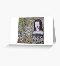 Lost In The Garden Greeting Card