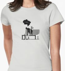 Automaton Blues Womens Fitted T-Shirt