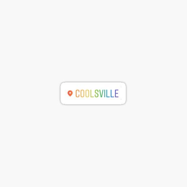 Coolsville Sticker