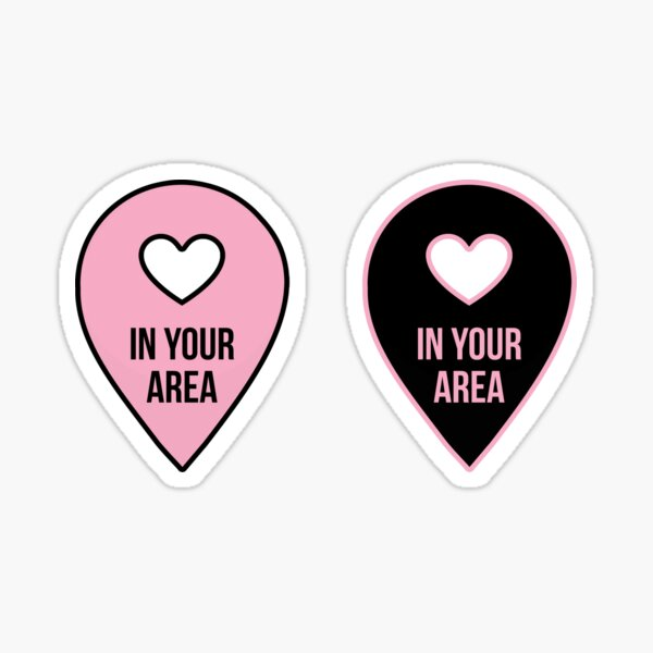 BLACKPINK IN YOUR AREA Sticker