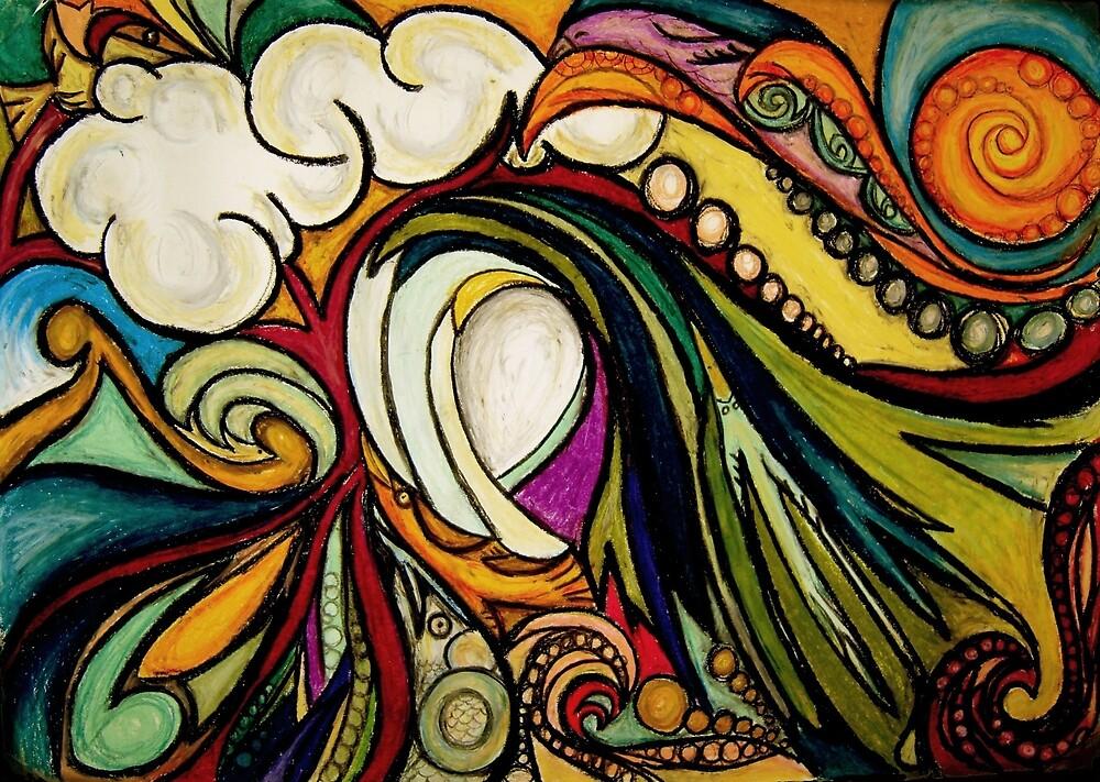 The Birds and The Sea by Maia Walczak