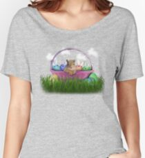 Easter Squirrel Women's Relaxed Fit T-Shirt