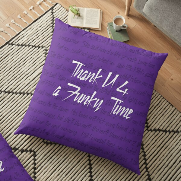 Sign Your Name on the Dotted Line Floor Pillow