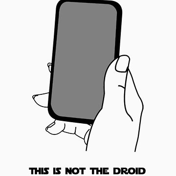 droid you are looking for by webbelot