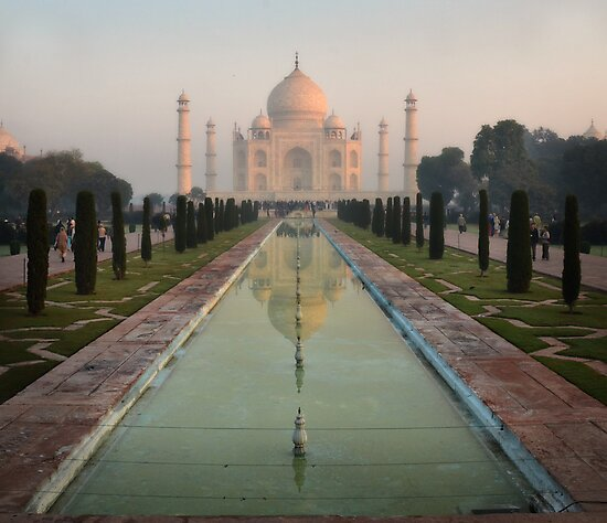 The Taj Mahal by Peter Hammer