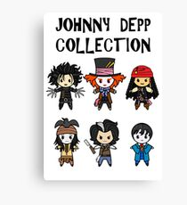 Depp Collection Canvas Print