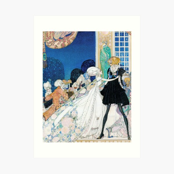 Don't Drink! I Would Rather Marry a Gardener!  Kay Nielsen Art Print