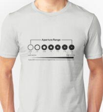 Aperture Chart Unisex T-Shirt