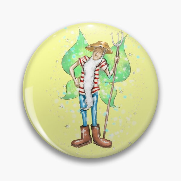 Farmer Furgus The Farm and Country Fairy™ Pin