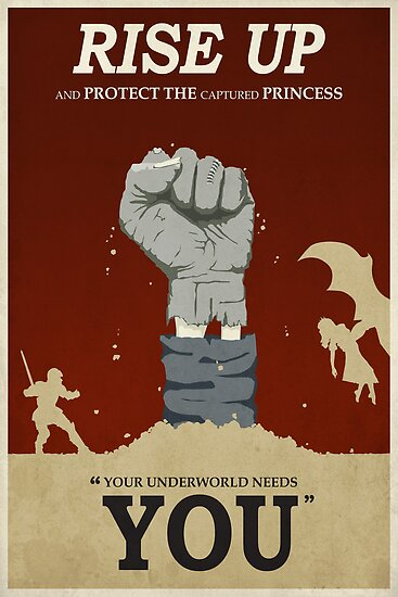 Rise Up by stevethomasart
