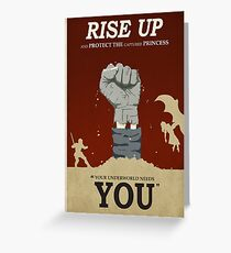 Rise Up Greeting Card