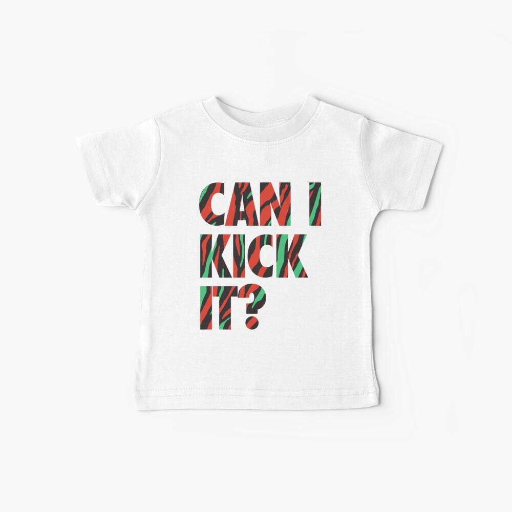 ¿Solo patealo? Camiseta para bebés