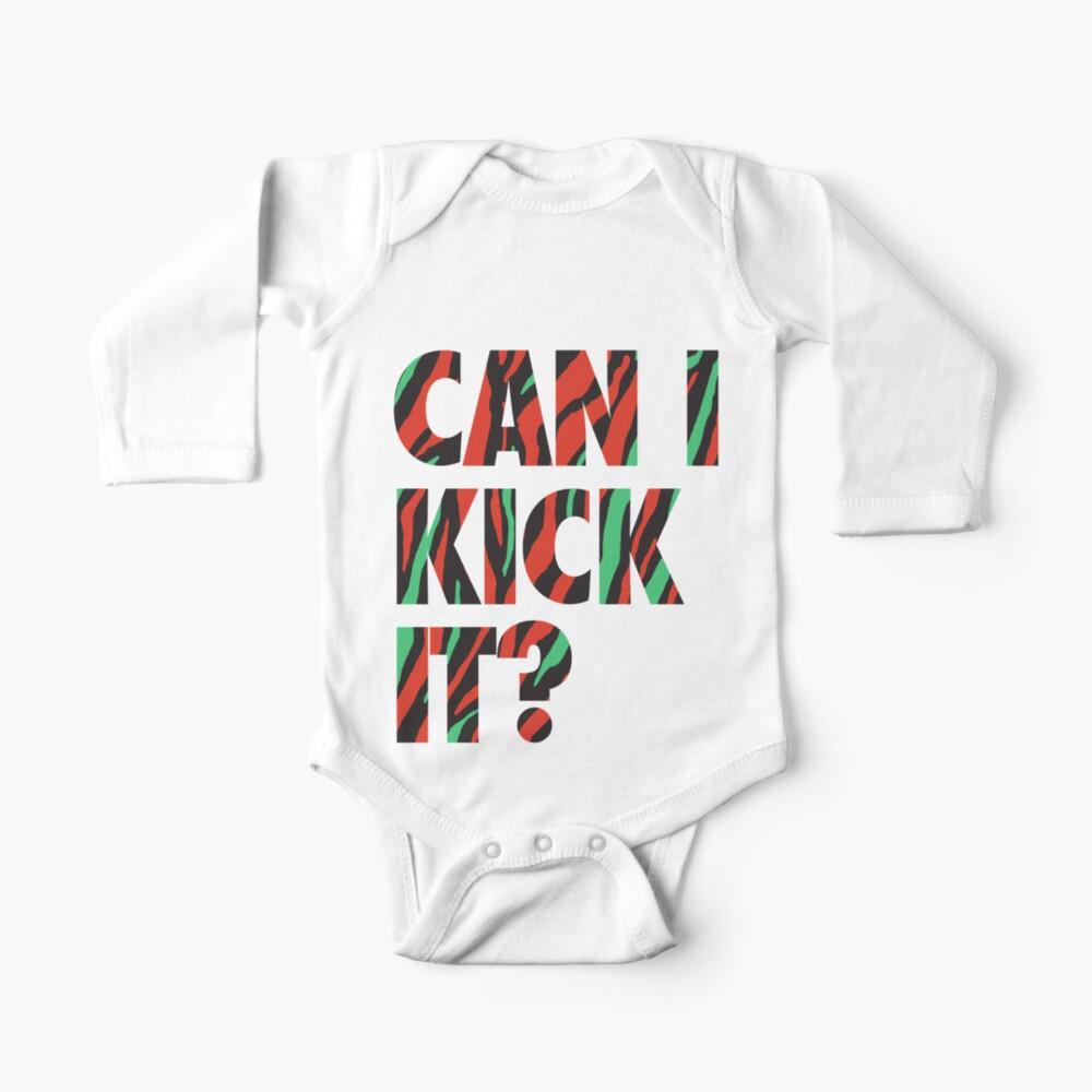 Just Kick It?  Baby One-Piece