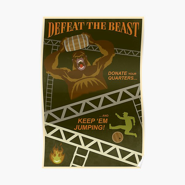 Defeat the Beast Poster