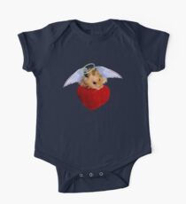 Angel Hamster with Heart Kids Clothes