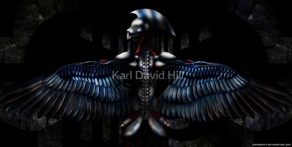 The Harpy 001 by Karl David Hill