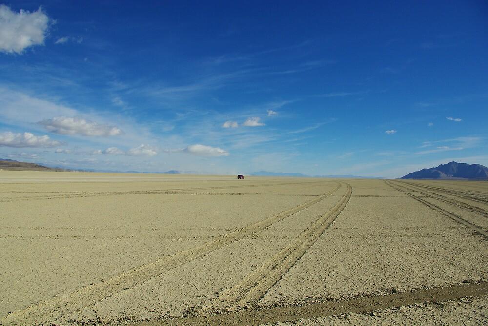 Black Rock Desert wide open by Claudio Del Luongo